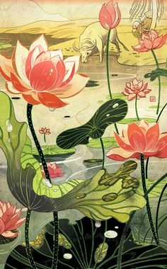 Victo Ngai, Chinese Fairy Tales and Fantasies Victo Ngai I...