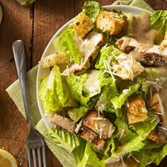 Classic Chicken Caesar Salad Recipe