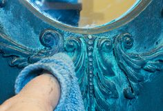 Learn this easy Faux Verdigris Finish Paint Technique! Brought to you by Heirloom Traditions.