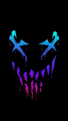Venom Face Amoled iPhone Wallpaper - iPhone Wallpapers