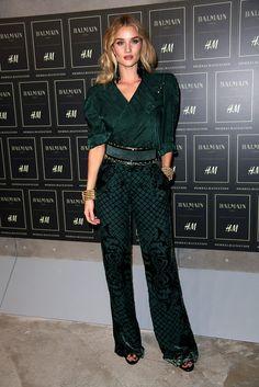 Rosie Huntington Whiteley en BALMAIN X H&M