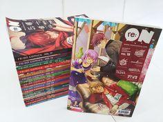Buku - re:ON Comics adalah majalah komik kompilasiIndonesia pertama yang saya koleksi. Sejak pertama kali diluncurkan di ajang pop culture terbesar di Indonesia: Popcon Asia 2013 lalu, saya tidak ...