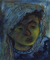 Portrait by Issachar Ber Ryback