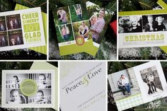 Holiday Greenery Card Collection