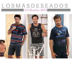 Los #pijamas más deseados para él de nuestra colecciñon p/v 2015 #Massana #Hombre #homewear #Summer #Spring #MassanaHomewear