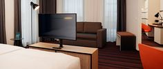 Geräumige Zimmer im Hyperion Hotel Hamburg
