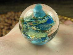 Into the Fire Lampwork Art Beads ~Didelis~ Artist handmade glass focal bead OOAK