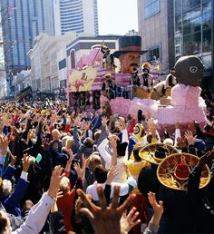 Mardi Gras meaning 'Fat Tuesday' is an annual celebration in New Orleans, United States | TOP 10 World Legendary Festivals You Don't Want To Miss