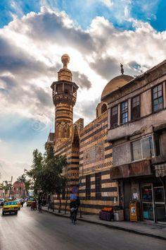 Syria Damascus جامع الصابونية باب صغير دمشق القديمة سوريا