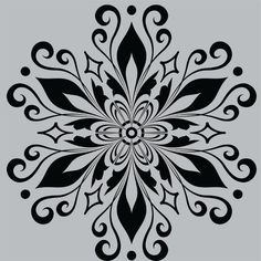 Mandala Stencils, Stencil Patterns, Stencil Designs, Embroidery Patterns, Mandala Drawing, Mandala Art, Metal Crafts, Paper Crafts, Stencil Printing