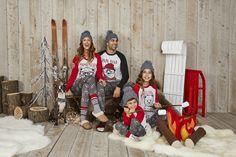 Jammin' Jammies: Matching Pajamas For The Whole Family Winter 2017, Fall Winter, Matching Family Pajamas, Holiday Festival, Christmas Sweaters, Cozy, Seasons, Kids, Fashion