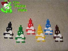 Nazarenos sema santa creados por creaciones Con mucha maña • Creación y diseño de abalorios•: hama beads