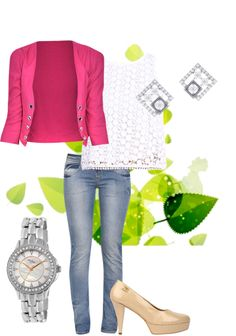 Exclusive Look by Shivani Beige Pumps, White Tops, Blue Jeans, Vip, What To Wear, Desktop, That Look, Medium, Stylish