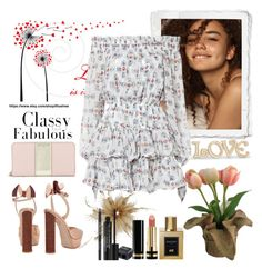 """Untitled #1170"" by misaflowers ❤ liked on Polyvore featuring Caroline Constas, Sophia Webster, Kate Spade, SONOMA Goods for Life, Balmain, Gucci, Rodial and Lenox"