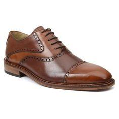 Giorgio Brutini Men's 25017 Dark Tan/Brown Arturo Calf Size ...