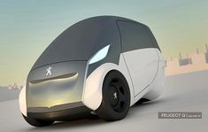 Peugeot Q is a lithium-ion powered and energy efficient eco vehicle concept on three wheels, which can spin 360 degree in only one maneuver.