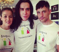 Camisetas promocionales de Fangoria por David Delfin