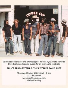 Bruce Springsteen and The E Stgreet Band, 1975