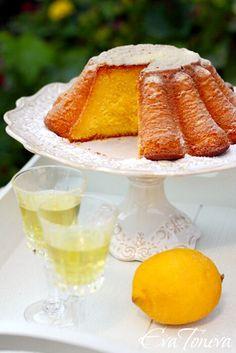 Лимонов сладкиш с рикота