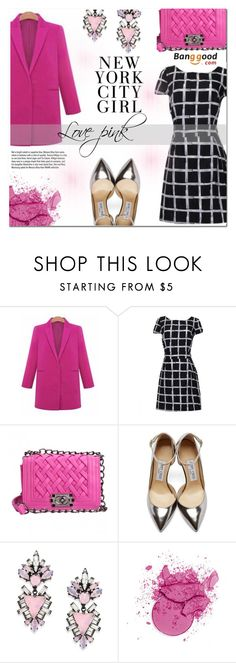 """Banggood #16"" by cherry-bh ❤ liked on Polyvore featuring мода, Jimmy Choo, Erickson Beamon, H&M, Garance Doré и BangGood"
