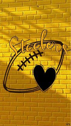 Pittsburgh Steelers Wallpaper, Nfl, Steelers Football, Steeler Nation, Black N Yellow, Converse, Logos, Baby, Sports
