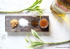 DIY Homemade Natural Lip Scrub | Wonder Forest: Design Your Life.