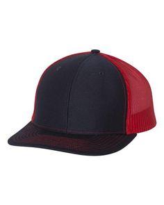 539f121c3b2 Navy Red - Snapback Trucker Hat