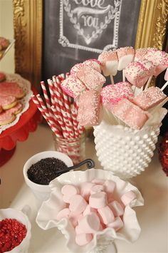 Marshmallow dippers ...yum!