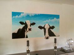 muurschilderingen woonkamer - Google zoeken
