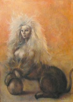 Leonor Fini Sphinx pour David Barrett