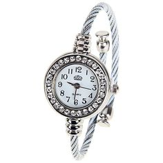 NEW ARRIVAL Silver Bangle Collectible Analog Watch For Women
