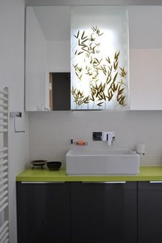 Glass Wash Basins Design Ideas, Pictures, Remodel, and Decor - page 10