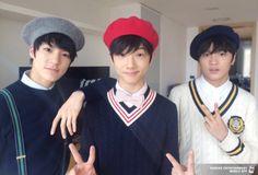 Jeno, Jisung and Donghyuck #SMROOKIES
