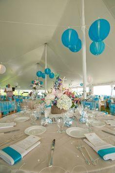 My wedding reception, but on the beach