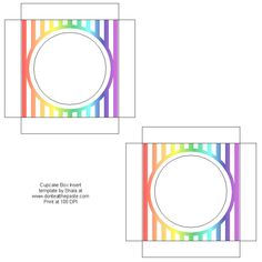 Cupckae Box Inserts, Free Box Templates to print for gift boxes, wedding favours, kids crafts and gift wrap ideas, printable, box , pattern,template, container,wrap, parent crafts, decor, design,paper crafts, cool teen crafts