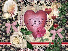 Jamie Carter Art -I Love You