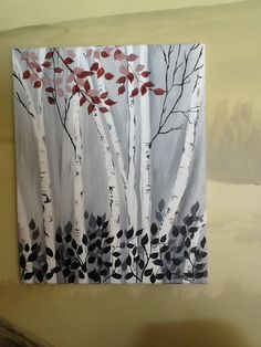 Painted by Diane McCarthy--  www.custompaintingbydi.com this one is for my job @ wine and canvas