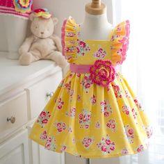 Yellow Rose Dress