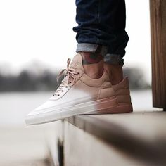Filling Pieces Low Top Nude Bladeux