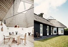 Komponist Pelle og kunstner Karin Birgitte finner både arbeidsro og sjelero i hytta tegnet av den kjente arkitekten Vilhelm Wohlert.