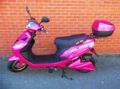 "2014 KGEEZ ""ACE 500"" ELECTRIC SCOOTER (PINK EDITION)"