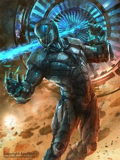 Applibot Illustration 3 by alexnegrea.deviantart.com on @deviantART