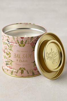 Soy Candle / Balsam & Cedar #Anthrofave