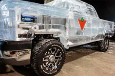 Ice Road Truck: 15K Pound Truck Made of Ice Really Drives | Gadgets, Science & Technology