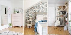 5 Small-Space Tricks to Steal From This Lovely Bedroom  - HouseBeautiful.com