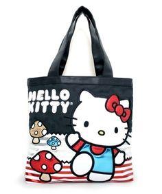 Hello Kitty Mushroom Tote Bag