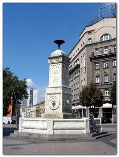 The Terazije fountain - Beograd, Serbia
