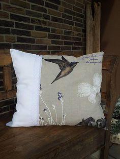 Linen pillow by shabby.romantic / Ľanová obliečka na vankúš Rousseline