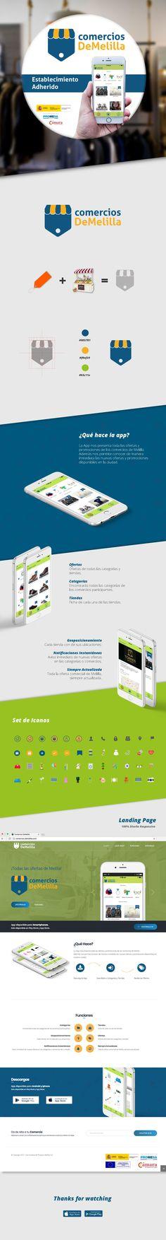 Identidad y FrontEnd Proyecto App comercios DeMelilla