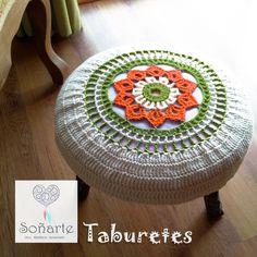 Taburete Posapié de Soñarte. www.sonarte.cl